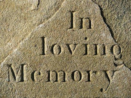 Loving, Memory, Memorial, Grief