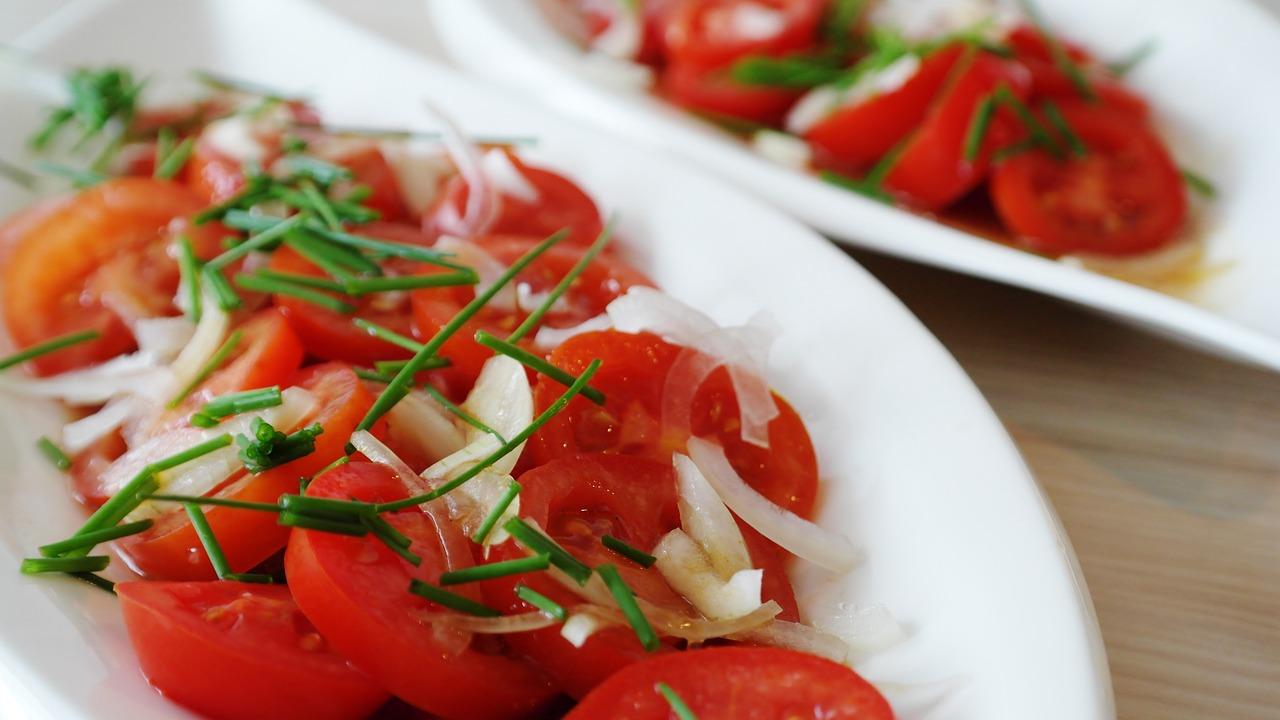 Рецепты салатов из помидор фото