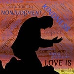 holiness, love, silhouette