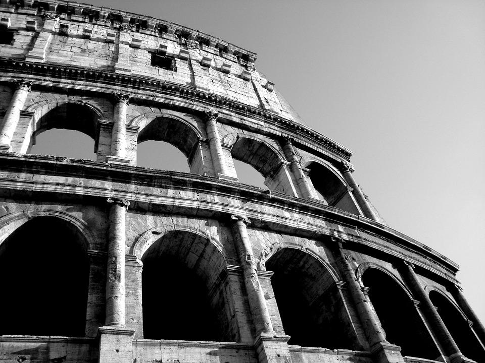 Rome, Italy, Italia, Colosseum, Arena, Monument