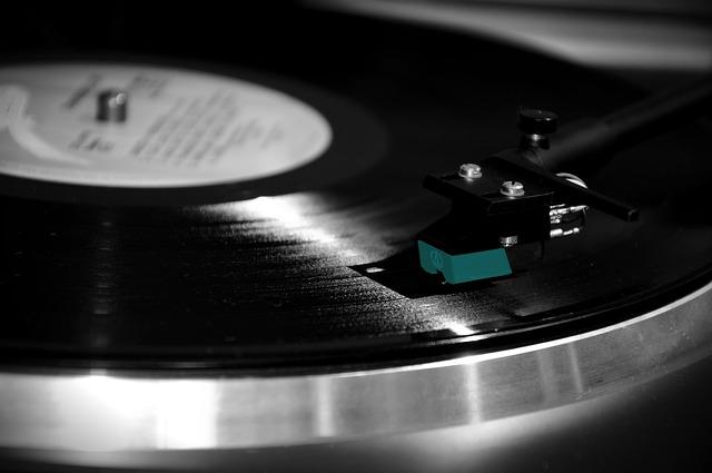 Free Photo Turntable Vinyl Sound Music Free Image On