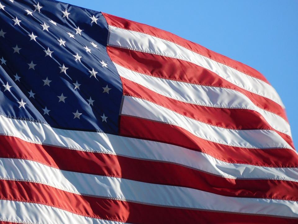 American Flag, American Flag Waving, Flag, Symbol