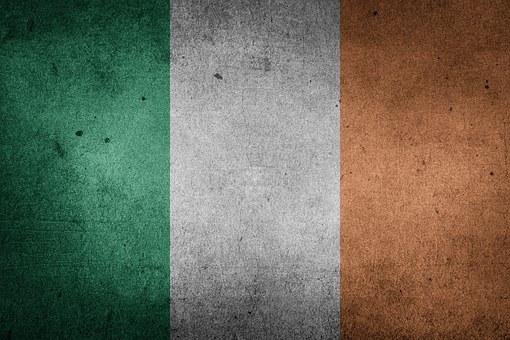 Flagge, Irland, Europa, Großbritannien
