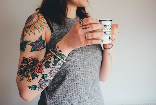 Tattoos Tattooing Arm Skin Flower Tattoos