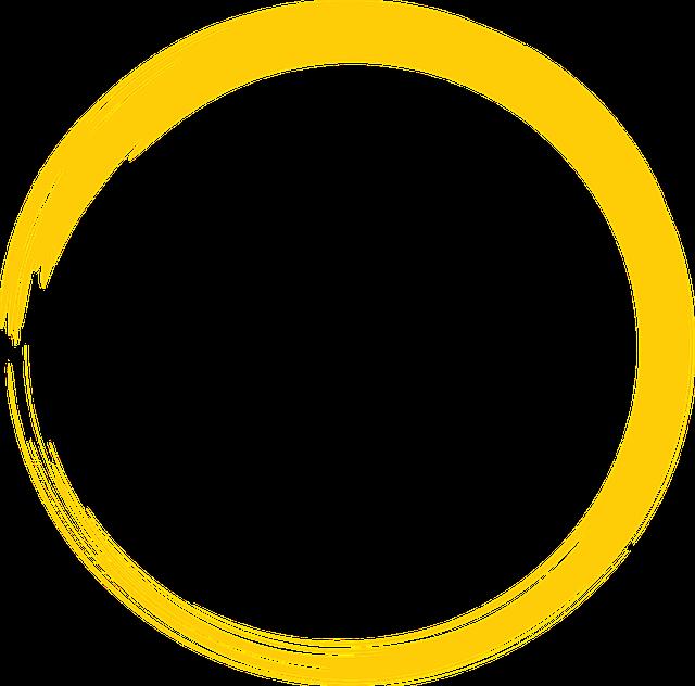 jaune tour cercle 183 image gratuite sur pixabay