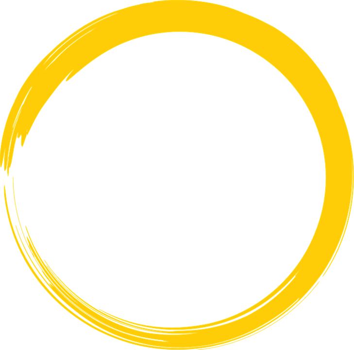 yellow round circle free image on pixabay