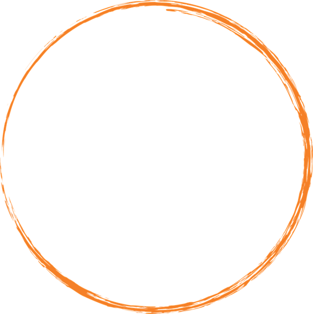 Kostenlose Illustration Orange Runde Kreis Farbe