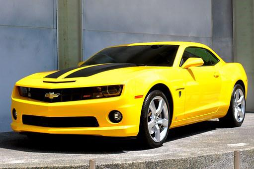 Transformers Bumblebee Movie Camaro Chevor