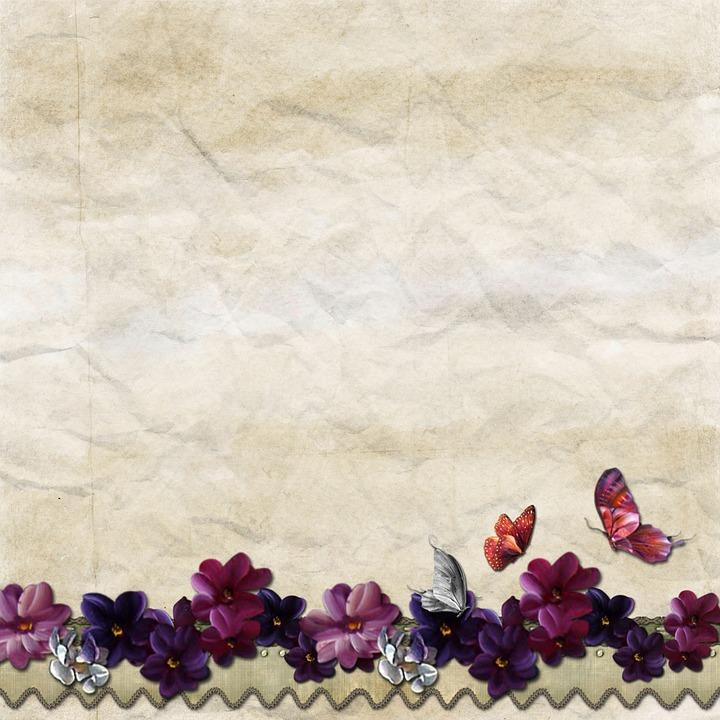 Free Illustration Background Butterfly Vintage Free