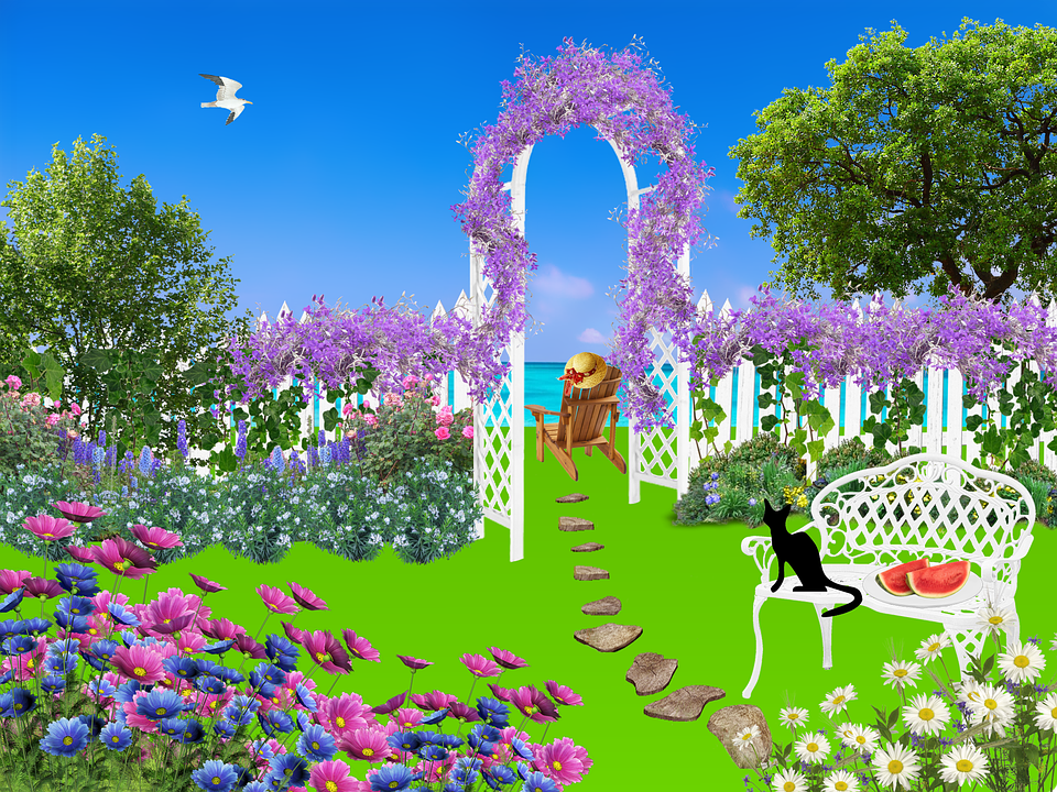 Garden Flowers free illustration: garden, flowers, nature, plant - free image on