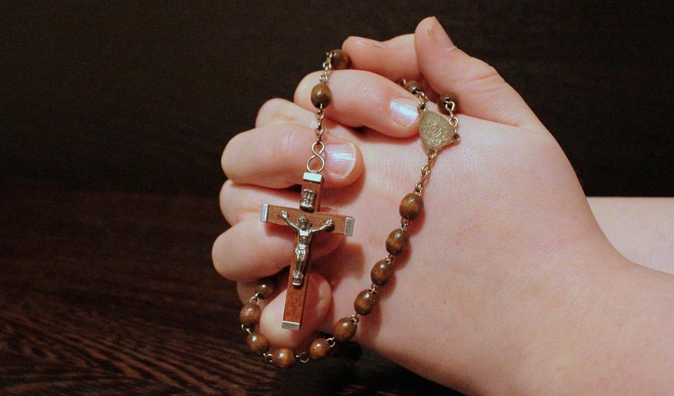 Розарий, Вера, Молиться, Сложенными Руками, Молитва