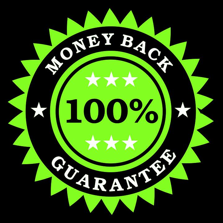 Money, Back, Guarantee, 100, Business, Service, Finance