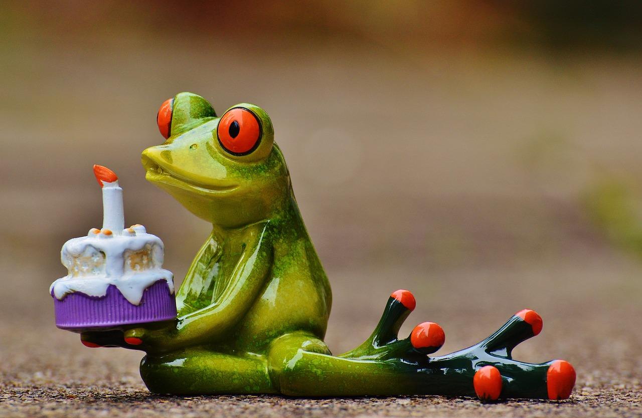 Картинки, открытки с жабами ко дню рождения