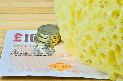 Sponge For Washing, Sponge, Cleaning