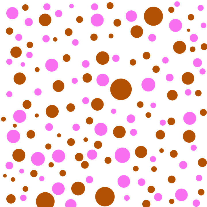 Pink Polka Dot Wallpaper: Free Illustration: Patterns, Brown, Pink, Polka Dots