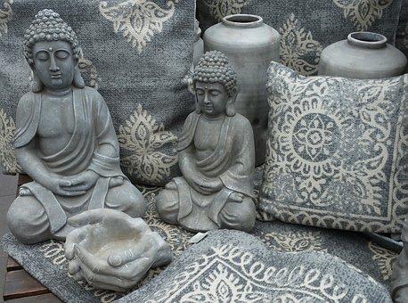 Buddha, Buddha Figure, Stone Figure