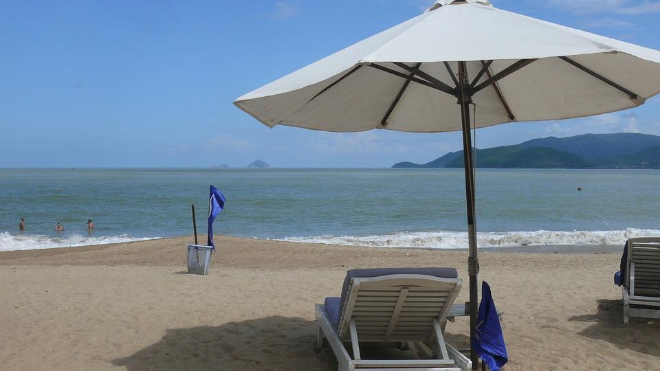 Sombrillas de playa grandes ikayaa zhum sombrilla de - Sombrilla playa ...