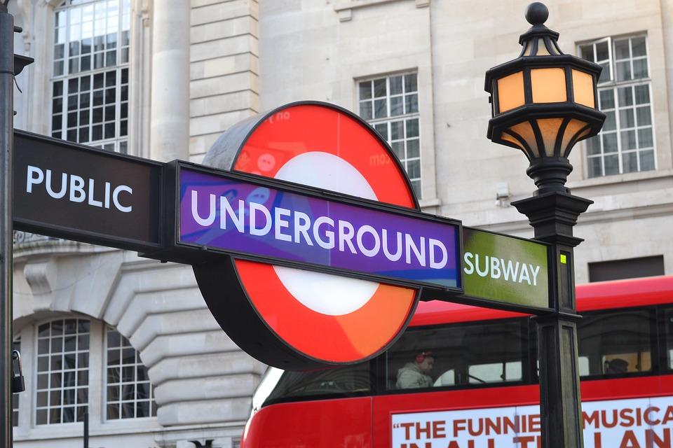 Londres, Trem, Escudo, Lâmpada, Ônibus, Reino Unido
