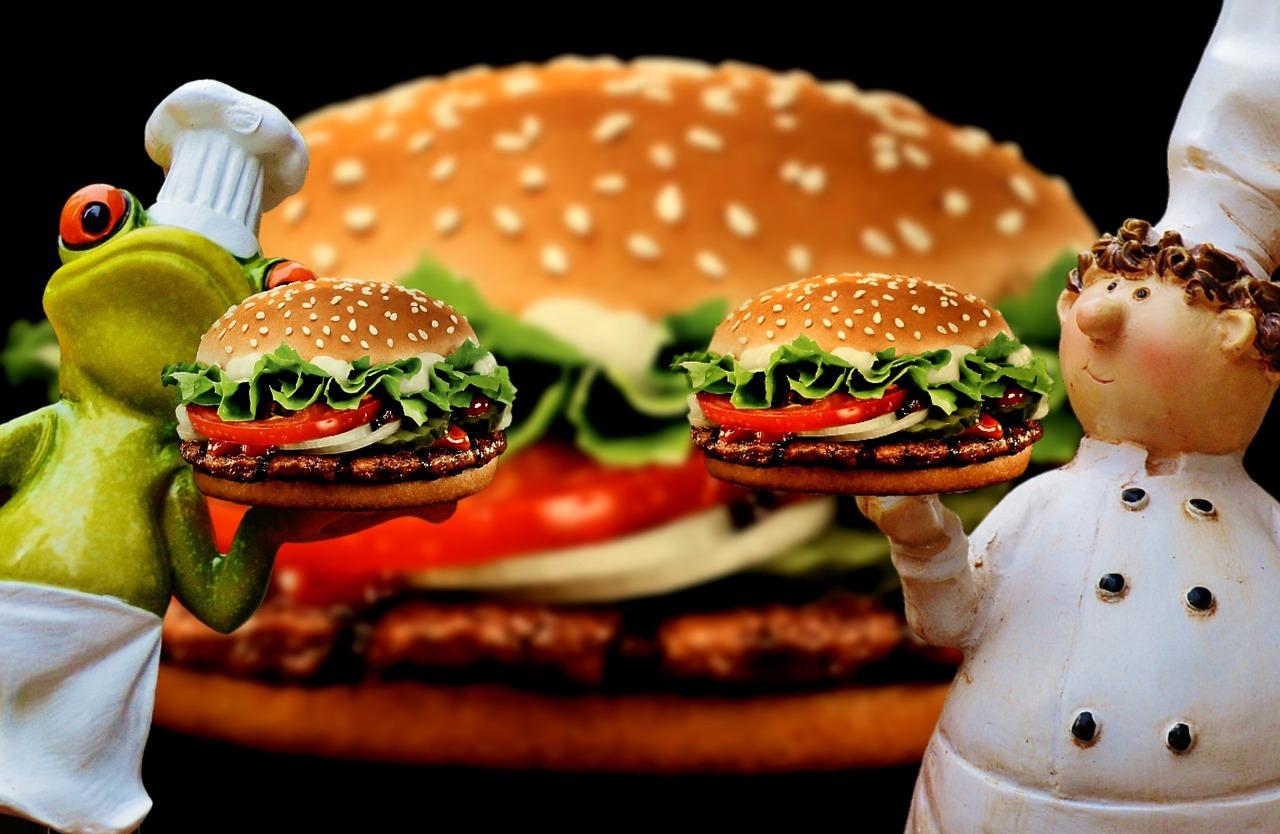 Смешные картинки гамбургеров, днем рождения по-английски