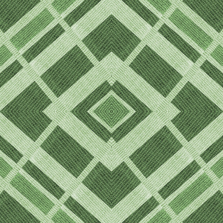 Fabric Textile Texture Green Shades Shapes Hues