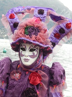 Carnival, Anncey, Mask, Mardi Gras