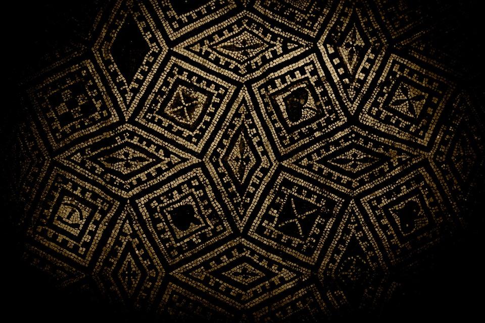 mosaic ground free photo on pixabay