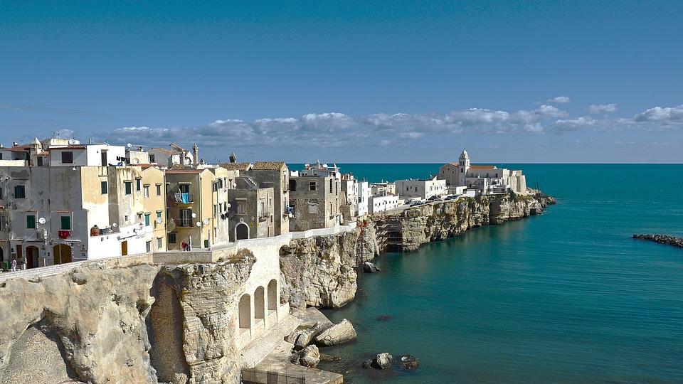 Italy, Pouilles, Gargano, Vieste