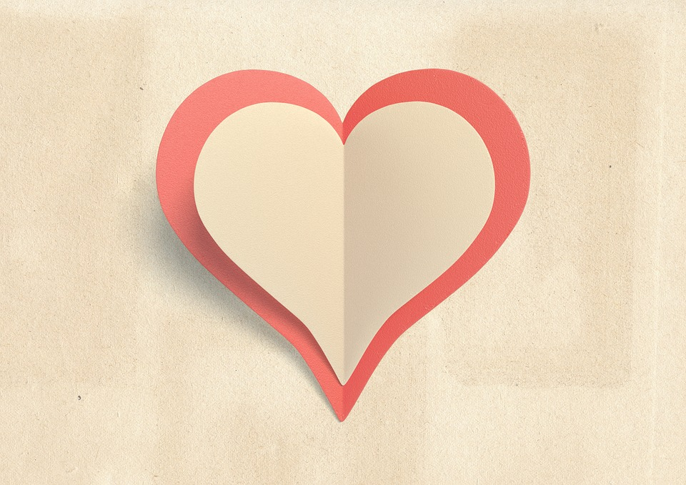 Heart Blank Love Free Photo On Pixabay