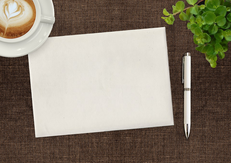 Image result for images of a pad of paper and coffee cup