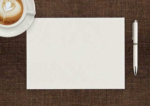 ペン, 紙, N, ペンと紙, ドキュメント, ビジネス, 空白, 書類