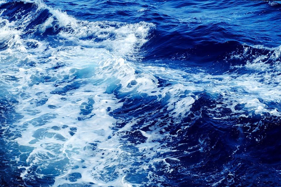 Onde, Mare, Acqua, Blu, Acqua Blu, Ocean