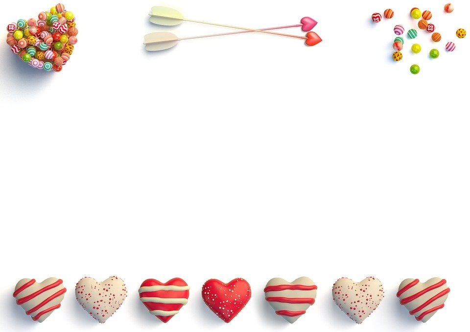 Hd Blank Birthday Background : ... illustration: Hearts, Sweets, Blank - Free Image on Pixabay - 1215842