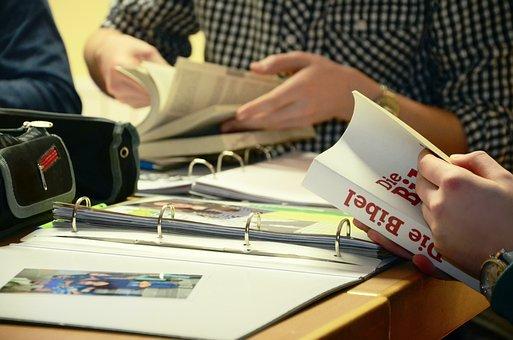 Bíblia, Escola Bíblica, Confirmação