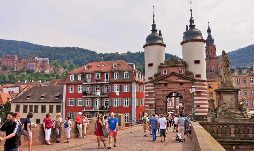 Kostenloses Foto: Deutschland, Heidelberg, Stadttor ...