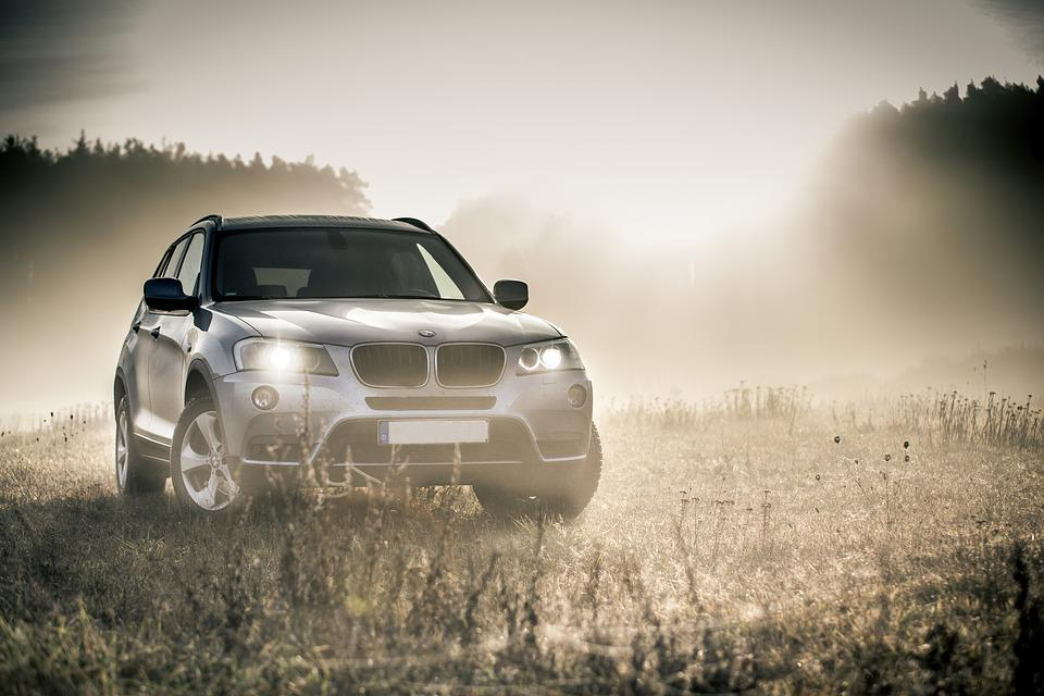 Bmw, Suv, Auto, Dare, All Terrain Vehicle, Fog, Autumn