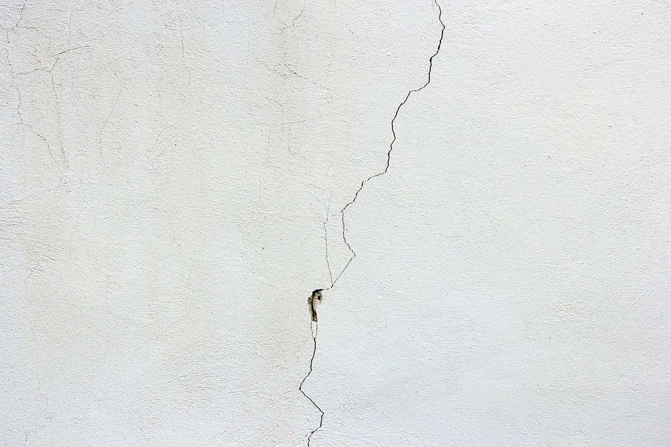 Visible Crack on the Wall
