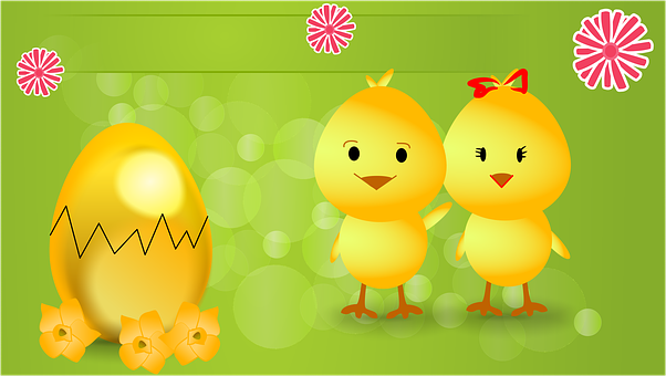 Ostern, Osterferien, Urlaub, Küken, Ei