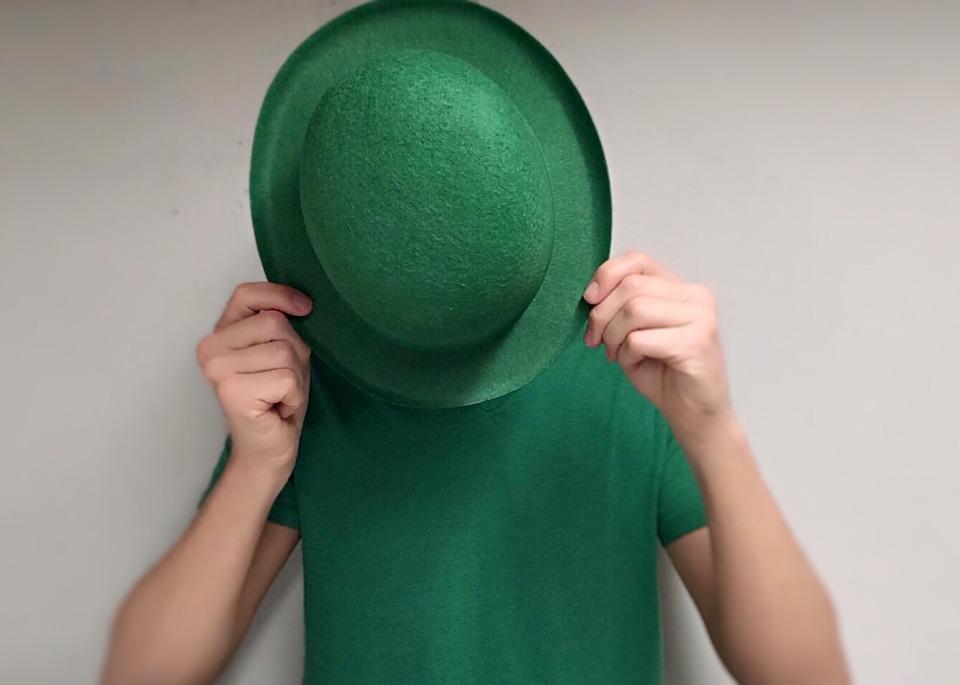Green, Irish, St Patricks Day, Hat