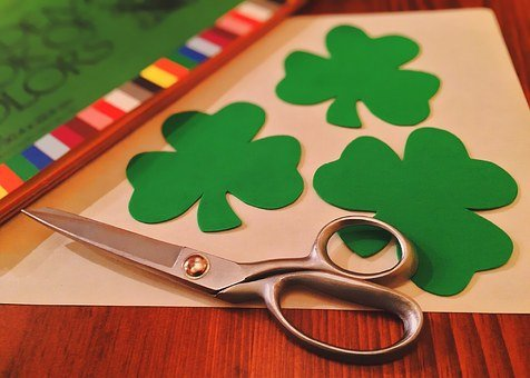 Shamrock, Green, Clover, Irish