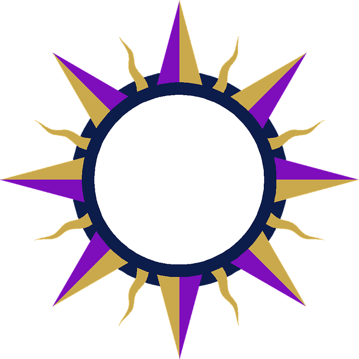 Star Sun Frame · Free image on Pixabay
