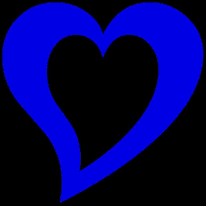 Blå, Hjertet, Disposisjon, Design, Kjærlighet