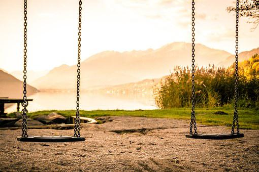 Swing, Playground, Swing Device