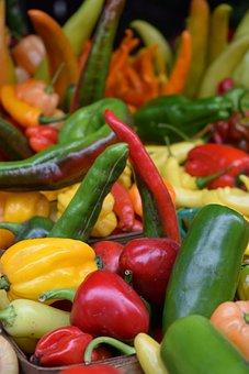 Vegetables, Veggies, Peppers