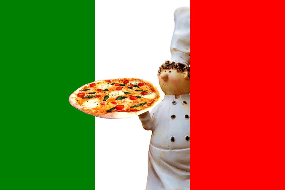 Kostenlose Illustration Pizza Italienisch Essen