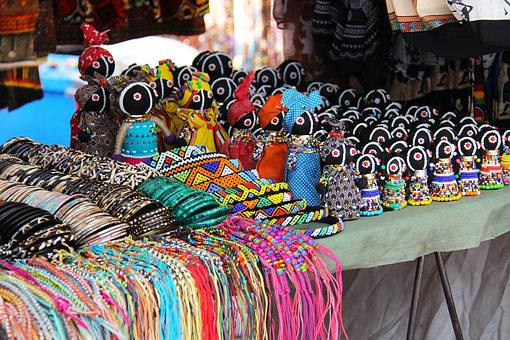 Art Crafts African Market Souvenir Tribal