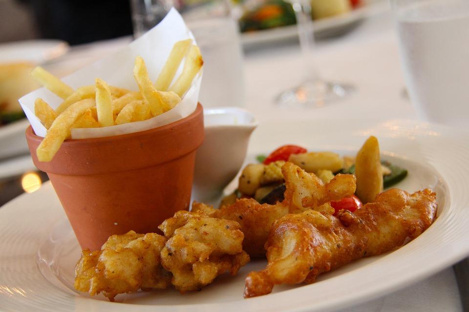 Fries, Fish And Chip, Fish, Potato