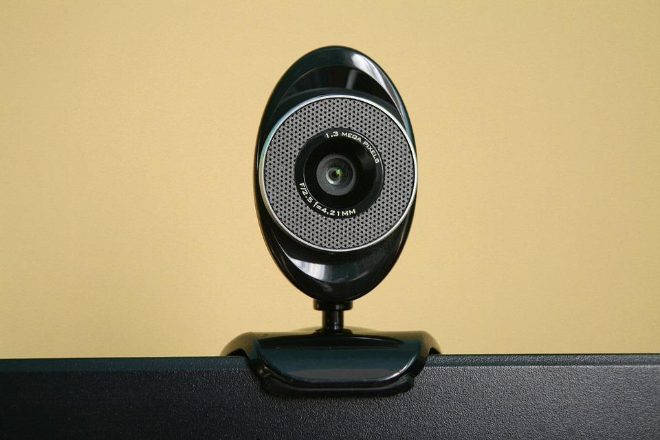 Camera, Webcam, Computer, Internet, Black, Electronics