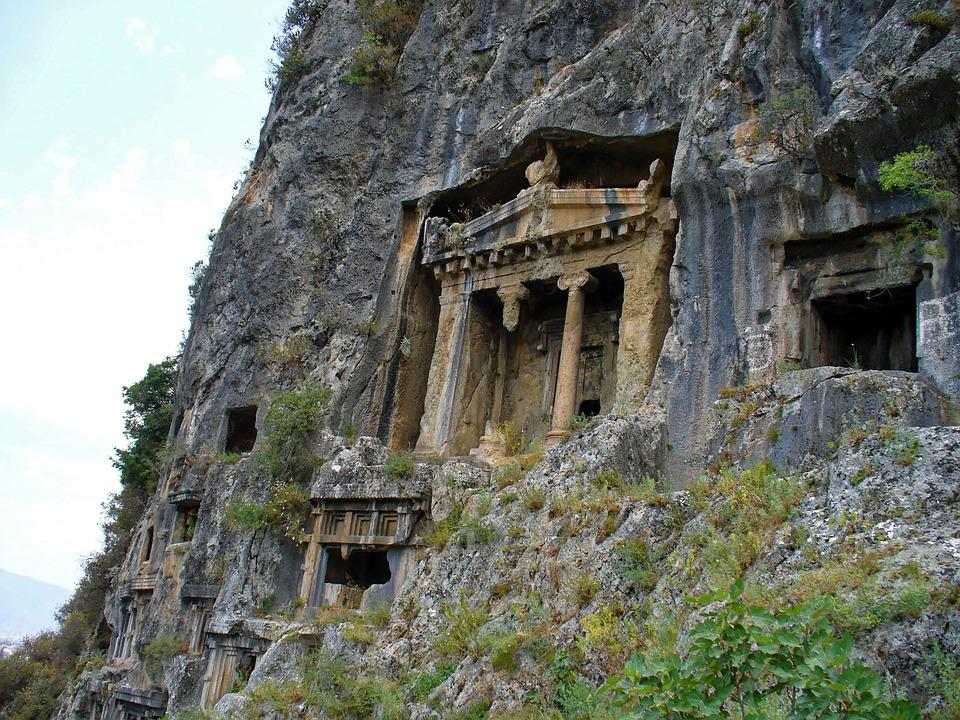 Free photo old ruins stone houses caves free image for Building a stone home