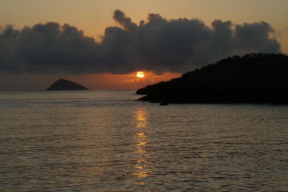 Sunset, Galapagos, Islands, Ecuador, Travel, Sea, Ocean