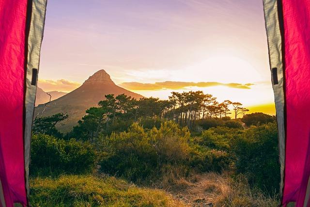 キャンプ, 美しい, ハイキング, アドベンチャー, 風景, 旅行, 山, ライフスタイル, 感動の風景